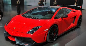 2011法兰克褔车展:Gallardo LP 570-4 Super Trofeo Stradale