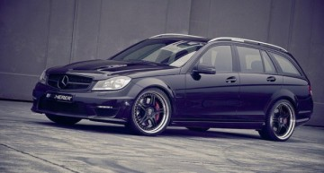 黑色劲驹 Kicherer C63 T AMG Supersport