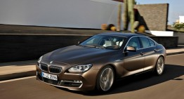 2013 BMW 6-Series Gran Coupe首次亮相