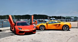 LP700-4 VS MP4-12C