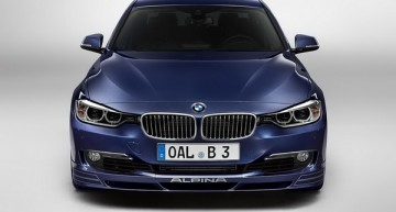 2013 Alpina B3 Bi-Turbo高性能轿跑