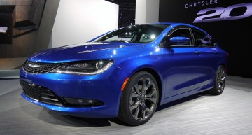外型抢眼性能提升,全新Chrysler 200正式登场