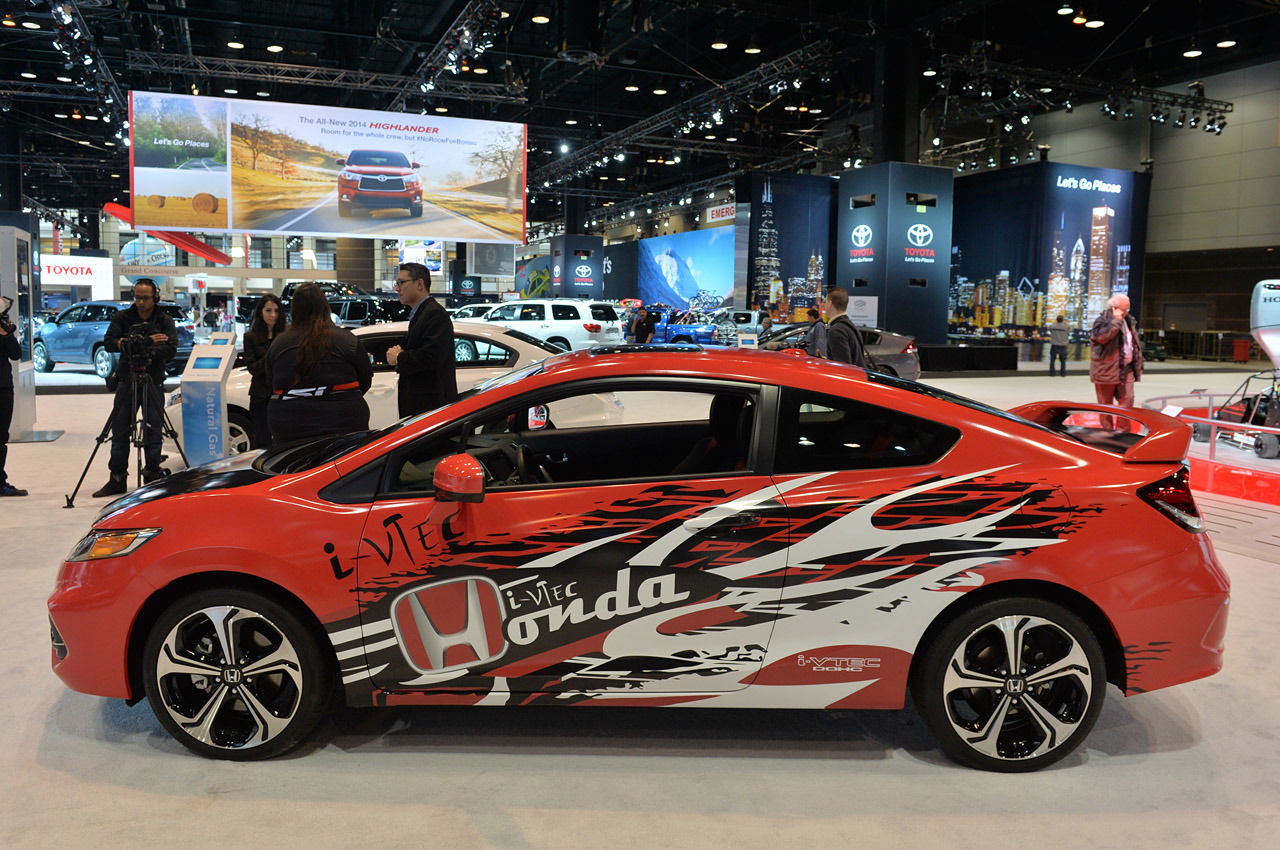 Forza Motorsport Honda Civic Si Coupe Chicago 2014