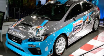 斯巴鲁WRX STI Global Rallycross Car