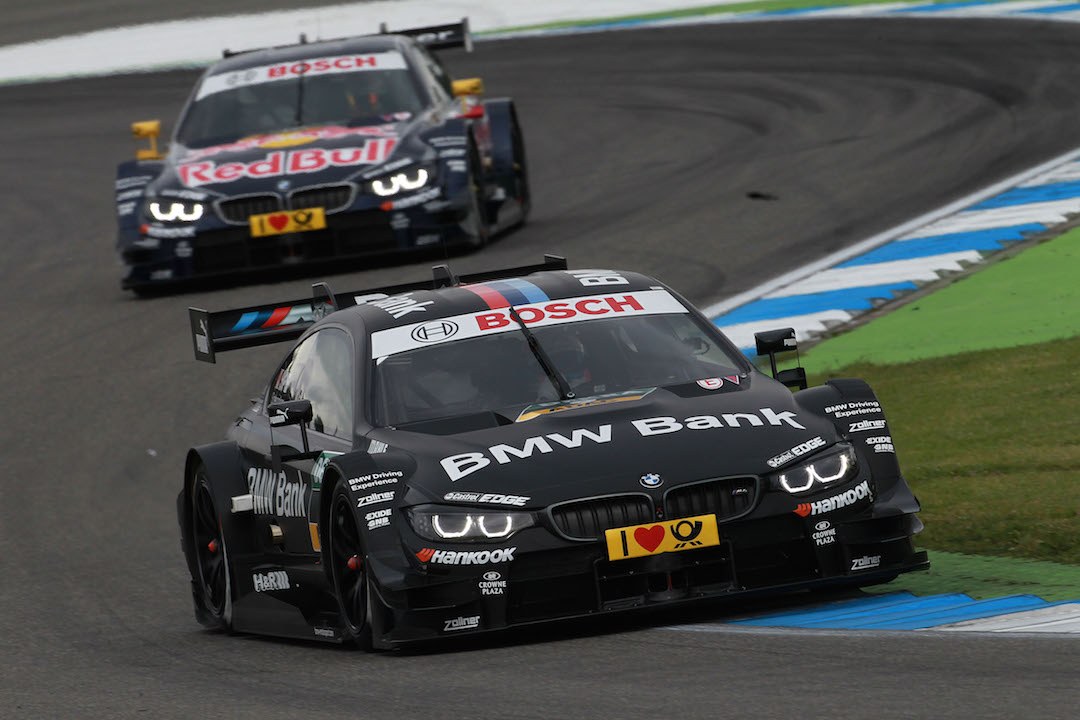 Hockenheim (DE) 03th May 2014. BMW Motorsport, Bruno Spengler (CA) BMW Bank M4 DTM and Antonio Felix da Costa (PT) Red Bull BMW M4 DTM. This image is copyright free for editorial use © BMW AG (05/2014).